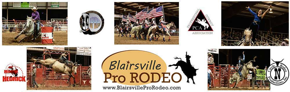 Blairsville Pro Rodeo banner